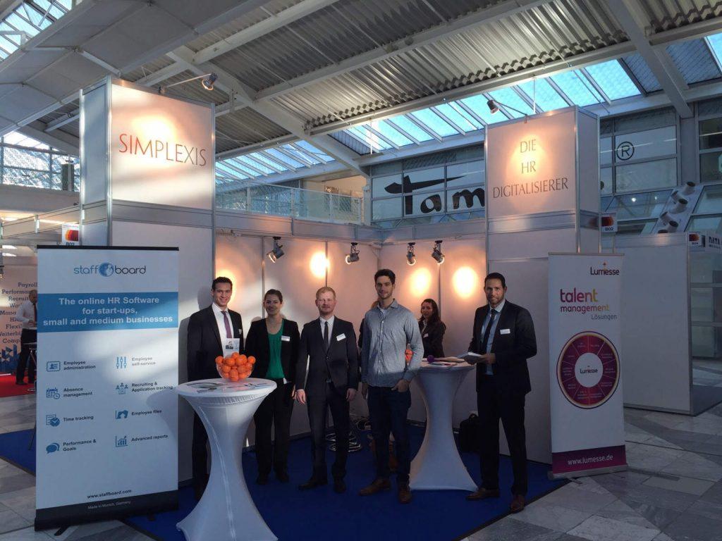 staffboard auf der Personalmesse München 2015